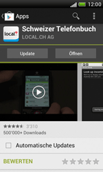 HTC Desire X - Apps - Installieren von Apps - Schritt 8
