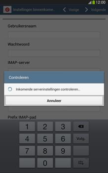 Samsung T315 Galaxy Tab 3 8-0 LTE - E-mail - Account instellen (IMAP met SMTP-verificatie) - Stap 10
