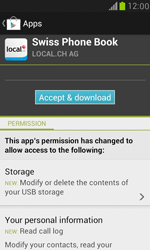 Samsung Galaxy S III Mini - Applications - Installing applications - Step 8