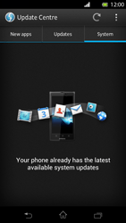 Sony Xperia T - Software - Installing software updates - Step 8