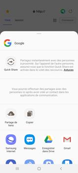 Samsung Galaxy A51 5G - Internet et connexion - Naviguer sur internet - Étape 22
