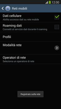 Samsung Galaxy Note III LTE - Rete - Selezione manuale della rete - Fase 10