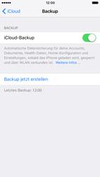 Apple iPhone 7 - Software - Eine iCloud-Sicherheitskopie erstellen und an ein neues Gerät übertragen - 1 / 1