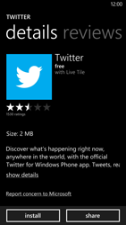 HTC Windows Phone 8X - Applications - Setting up the application store - Step 7