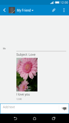HTC Desire 816 - MMS - Sending pictures - Step 18