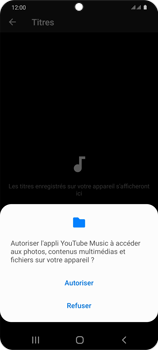 Samsung Galaxy S20 - Photos, vidéos, musique - Ecouter de la musique - Étape 7