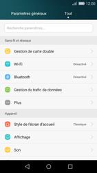 Huawei P8 Lite - Internet et connexion - Partager votre connexion en Wi-Fi - Étape 3