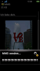 Sony Ericsson U5i Vivaz - MMS - Erstellen und senden - 2 / 2