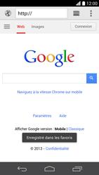 Huawei Ascend P6 - Internet et roaming de données - Navigation sur Internet - Étape 12