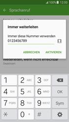 Samsung Galaxy J5 - Anrufe - Rufumleitungen setzen und löschen - 1 / 1