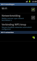 Samsung I9070 Galaxy S Advance - wifi - handmatig instellen - stap 7