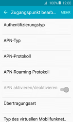 Samsung Galaxy J1 (2016) - Internet - Apn-Einstellungen - 13 / 36