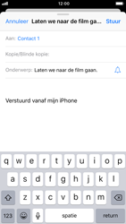 Apple iPhone 7 - iOS 12 - E-mail - Bericht met attachment versturen - Stap 7