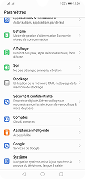 Huawei Y7 (2019) - Appareil - configurer Localiser mon appareil - Étape 3
