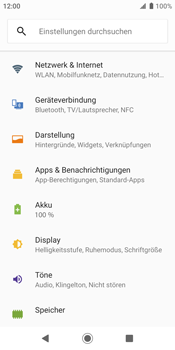 Sony Xperia XZ2 - Android Pie - MMS - Manuelle Konfiguration - Schritt 5