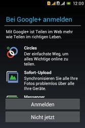 Sony Xperia Tipo Dual - Apps - Konto anlegen und einrichten - Schritt 19