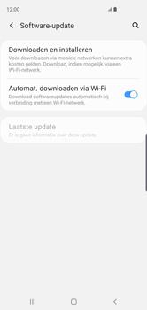 Samsung Galaxy S10 - Toestel - Software update - Stap 6