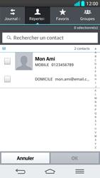 LG G2 - Contact, Appels, SMS/MMS - Envoyer un SMS - Étape 6