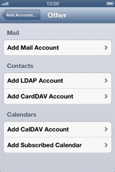 Apple iPhone 4 - E-mail - Manual configuration - Step 6