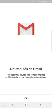 Samsung Galaxy Note 8 - E-mails - Ajouter ou modifier votre compte Gmail - Étape 4