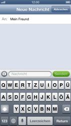Apple iPhone 5 - MMS - Erstellen und senden - Schritt 9
