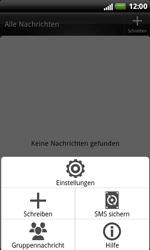 HTC Sensation XL - SMS - Manuelle Konfiguration - 5 / 9