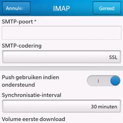 BlackBerry Q10 - E-mail - Handmatig instellen - Stap 15