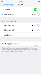 Apple iPhone 8 - iOS 12 - WLAN - Manuelle Konfiguration - Schritt 7