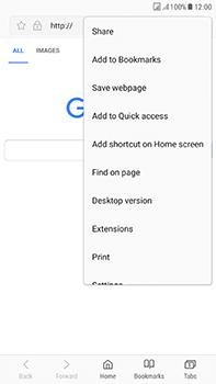 Samsung Galaxy J7 (2017) - Internet - Internet browsing - Step 9