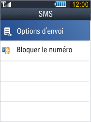 Samsung B3410 Star Qwerty - SMS - configuration manuelle - Étape 7