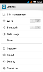 Alcatel One Touch Pop C3 - Internet and data roaming - manual configuration - Step 4