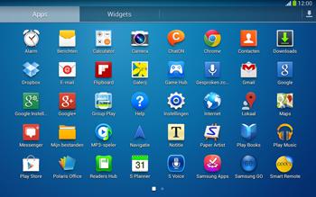 Samsung P5220 Galaxy Tab 3 10-1 LTE - Contacten en data - Contacten overzetten via Bluetooth - Stap 3