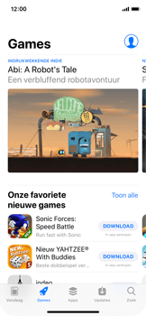 Apple iPhone X - apps - app store gebruiken - stap 4