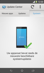 Sony D2005 Xperia E1 - software - update installeren zonder pc - stap 7