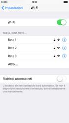 Apple iPhone 6 iOS 8 - WiFi - Configurazione WiFi - Fase 5