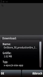 Nokia 5800 Xpress Music - Apps - Konto anlegen und einrichten - 5 / 15