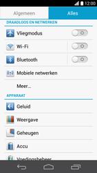 Huawei Ascend P6 LTE - netwerk en bereik - gebruik in binnen- en buitenland - stap 4
