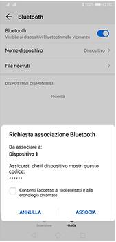 Huawei P20 Pro - Android Pie - Bluetooth - Collegamento dei dispositivi - Fase 7