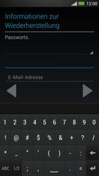 HTC One - Apps - Konto anlegen und einrichten - 15 / 25
