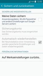 Samsung Galaxy A5 - Fehlerbehebung - Handy zurücksetzen - 0 / 0