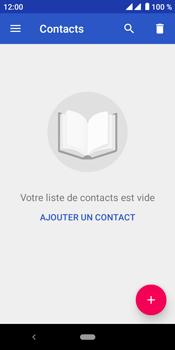 Crosscall Core M4 - Contact, Appels, SMS/MMS - Ajouter un contact - Étape 4
