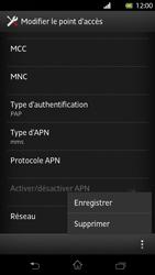 Sony Xperia T - MMS - Configuration manuelle - Étape 14