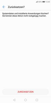 Huawei P Smart - Fehlerbehebung - Handy zurücksetzen - 11 / 12