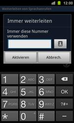 Samsung I8160 Galaxy Ace 2 - Anrufe - Rufumleitungen setzen und löschen - Schritt 8
