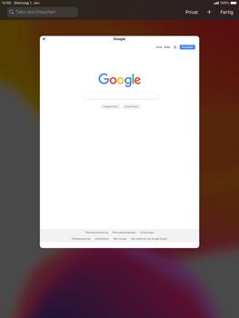 Apple iPad Air (2019) - iPadOS 13 - Internet und Datenroaming - Verwenden des Internets - Schritt 12