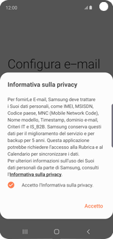 Samsung Galaxy S10e - E-mail - 032c. Email wizard - Outlook - Fase 11