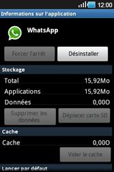Samsung Galaxy Ace - Applications - Supprimer une application - Étape 7