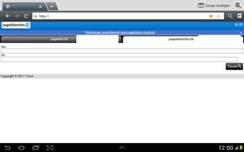 Samsung N8000 Galaxy Note 10-1 - Internet - navigation sur Internet - Étape 9