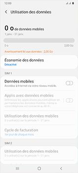 Samsung Galaxy A41 - Internet et connexion - Désactiver la connexion Internet - Étape 7