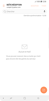 Samsung Galaxy Note9 - E-mail - 032b. Email wizard - Yahoo - Étape 11